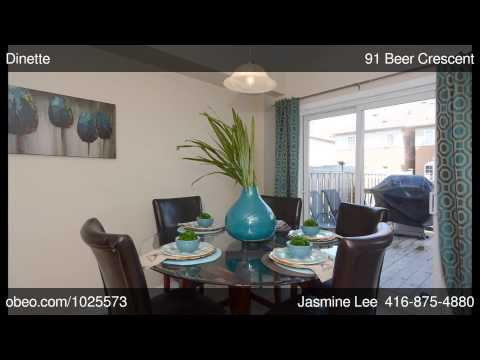 91 Beer Crescent Ajax ON L1S0B9 - Jasmine Lee - REMAX Hallmark Realty Ltd