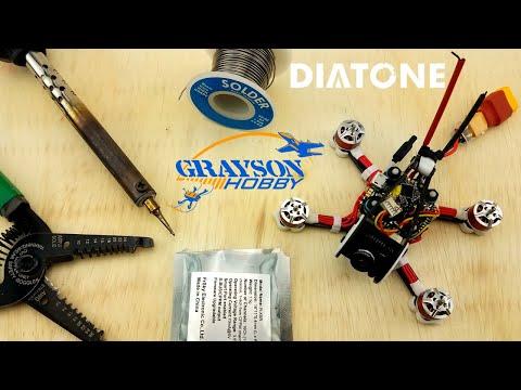diatone-gtr90-installing-xm-&-xm+-|-solder-frsky-receiver-into-gt90