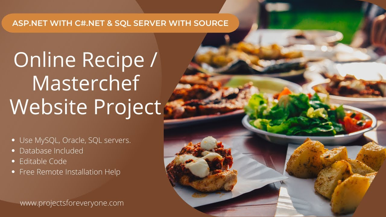 Online recipe masterchef website project in asp with c online recipe masterchef website project in asp with c sql server forumfinder Choice Image