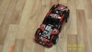 Race Truck Car 2 In 1 Transformable Model
