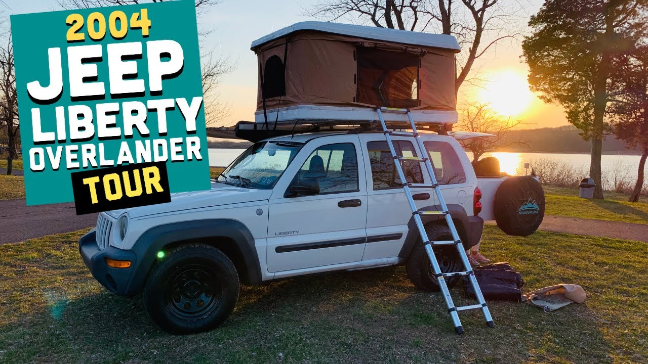 2004 Jeep Liberty 4x4 Mini Overlander Features Tour Youtube