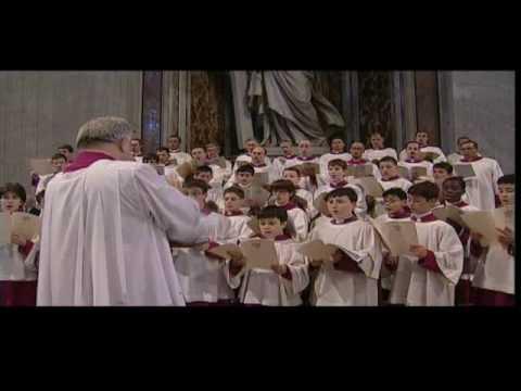 Pueri Cantores Capella Sistina - Magnificat