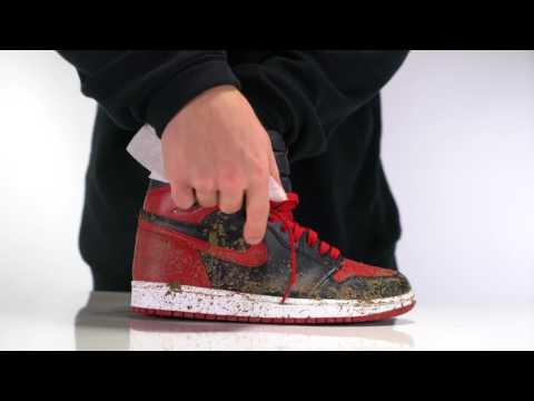 How to clean Air Jordan 1