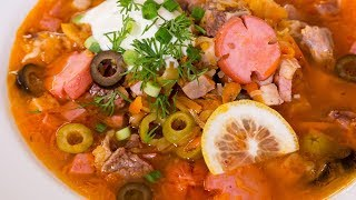 Гламурная Солянка. Русский суп