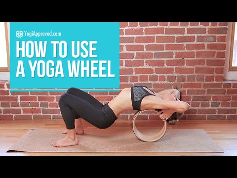 How to Use a Yoga Wheel (Video Tutorial) - YouTube 010650cf0d4