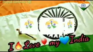 I love my india Happy independence day WhatsApp Status special lyrical original video download hd...