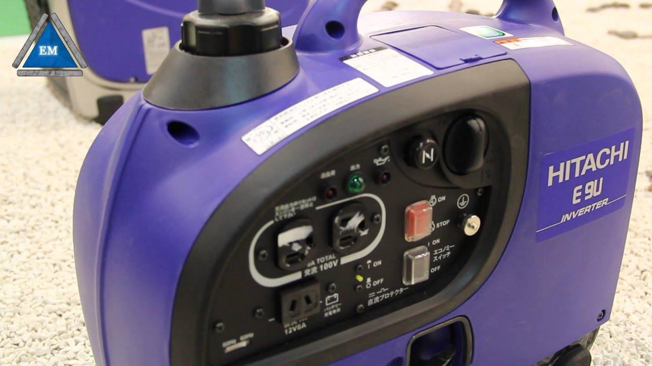 Инверторный бензиновый генератор hitachi e10u отзывы сварочный аппарат для сварки скруток купить