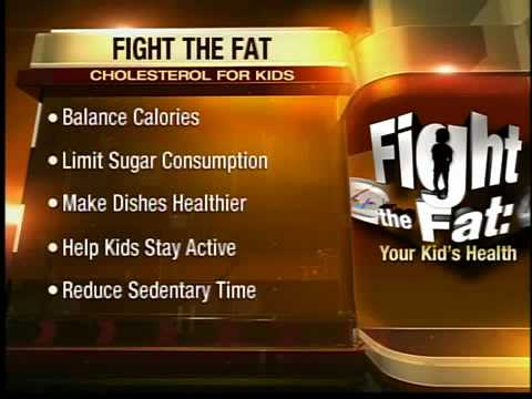 FIGHT THE FAT: Cholesterol for your kids