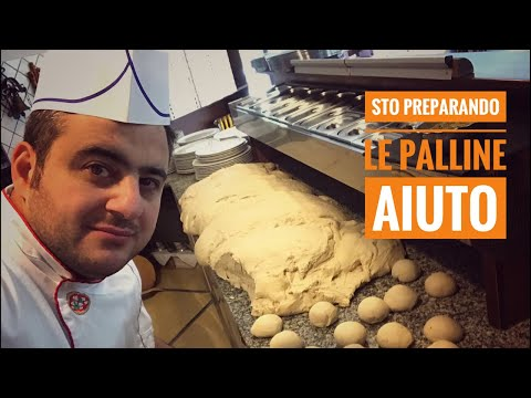 ...preparando le Pallinine  per #pizzachilometro per Domani 😍🤗😘😊 Ciao a tutti!!🤩
