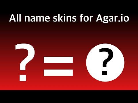 all name skins agar.io