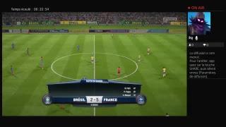Diffusion PS4 en direct de killeurdu29BZH pack fifa coup du monde 2018 France Argentine