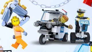 Lego City Police Chase Thief and Save Pets | We Are The Police