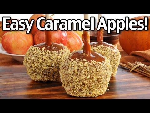 Easy Caramel Apples!
