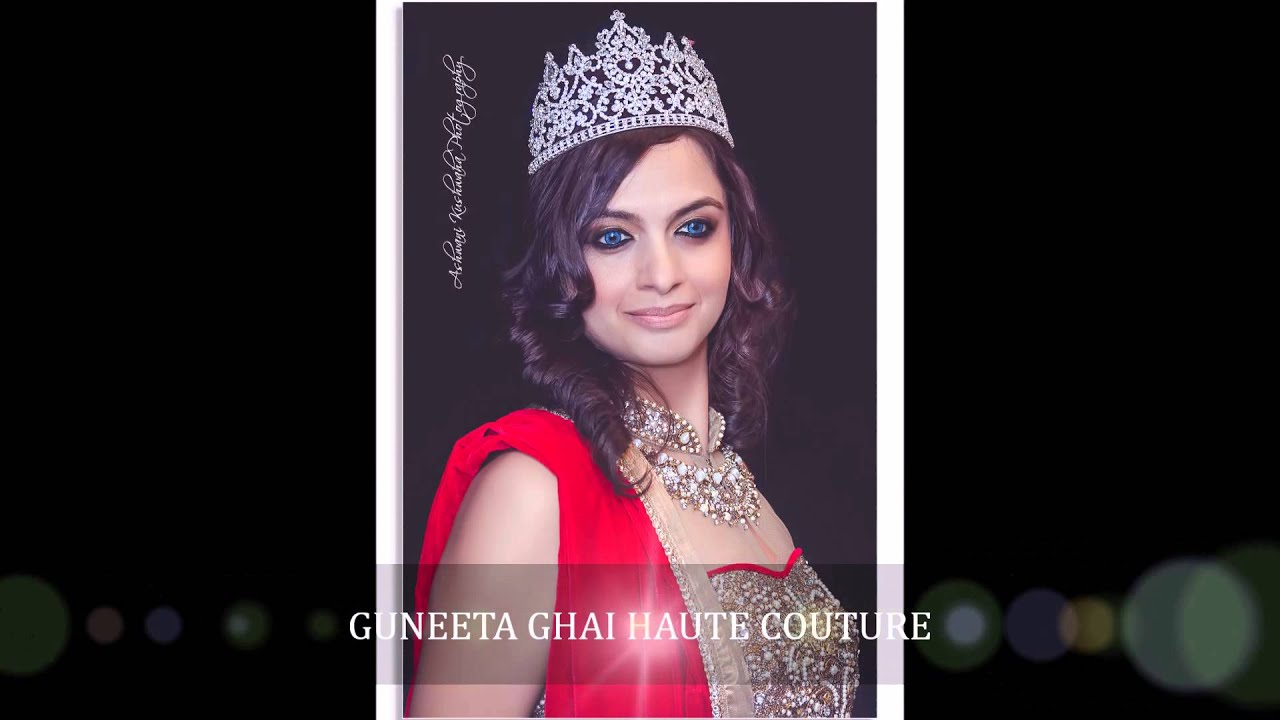 Guneeta ghai haute couture photoshoot with mibq first for Haute couture photoshoot