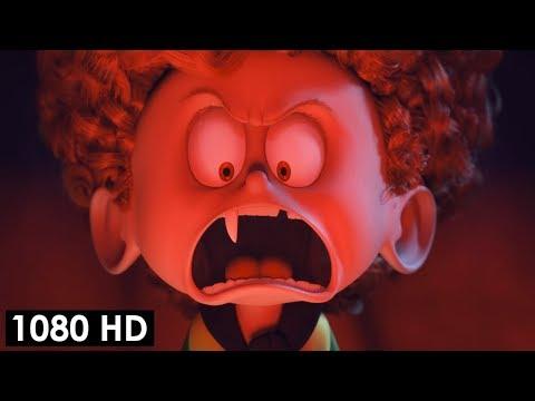 Дениска превращается в вампира и заступается за Винни | Монстры на каникулах 2 (2015)