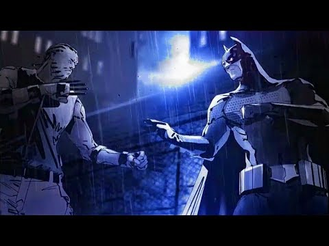 Batman vs Bronze Tiger - Batman Arkham Origins Blackgate Deluxe Edition
