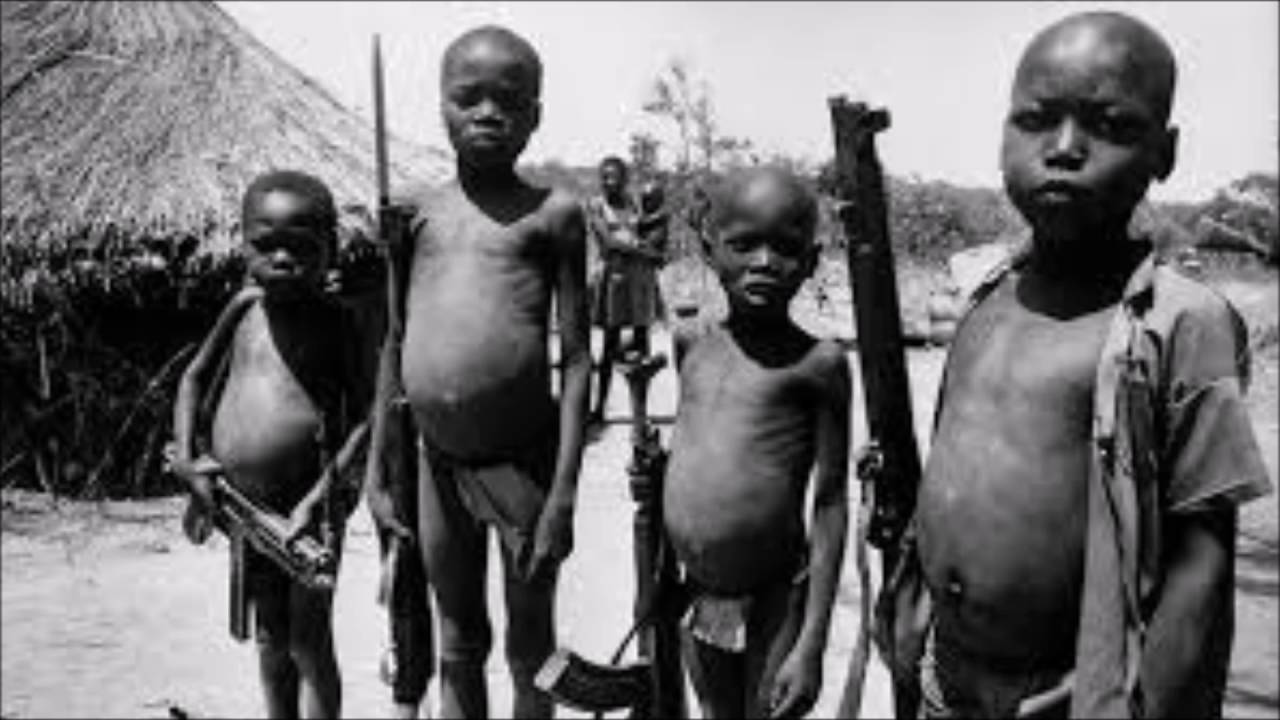 Children soldiers in africa