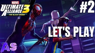 We Doing A Thing Marvel Ultimate Alliance 3- Letand39s Play Part 2  Avidan Smith