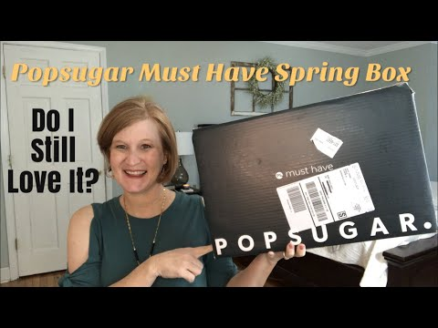Popsugar Must Have  🌼Spring 2019 🌼  My 1 Lifestyle Box Pick🏆
