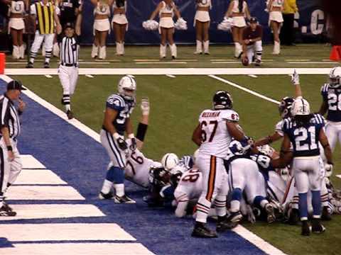 Jason McKie Bears Touchdown vs Colts 2008