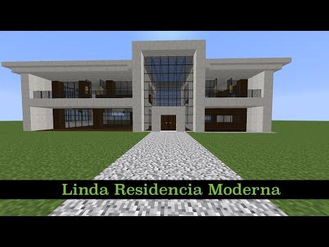 Como hacer una cama grande y funcional en minecraft for Como hacer una casa moderna y grande