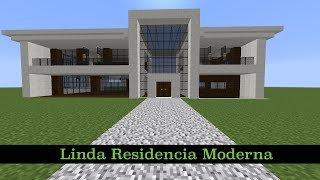 Como Hacer Una Linda Residencia Moderna (PT1) thumbnail