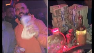 Drake Spends $200K At Club Allure In ATL