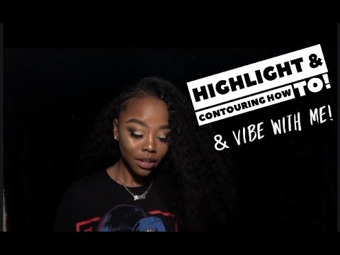 Highlighting & Contouring talk thru + vibe w/ my playlist! | Makeupbyriri