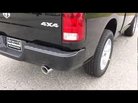 2013 Dodge Ram 1500 Tradesman Express Sport Hemi Black Truck