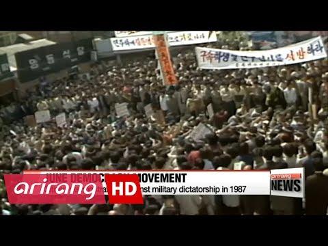 Looking back on Korea's June Democracy Movement