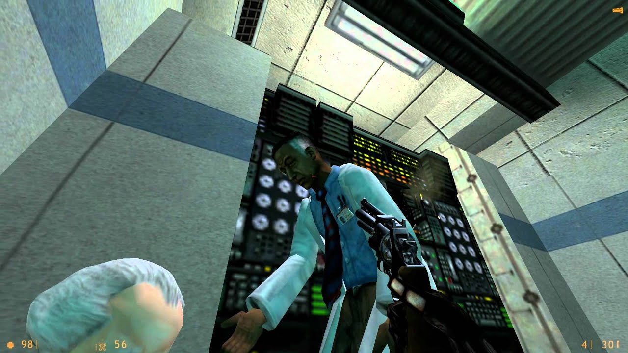 Half Life Source Hd Texture Pack Hd 1080p Gameplay Youtube