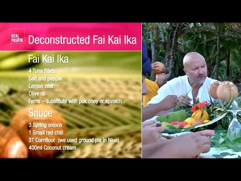 Recipe: Deconstructed Fai Kai Ika from Niue
