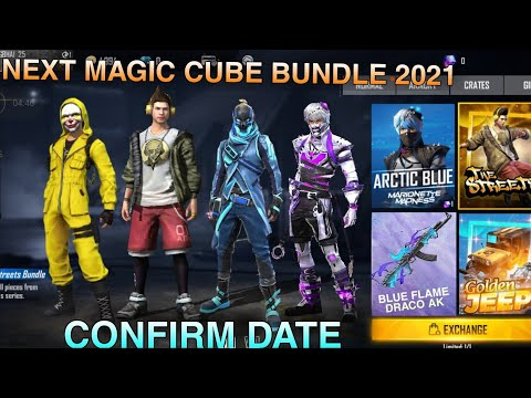 24kGoldn - Mood ❤️ ||  Next Magic Cube Bundle 2021 || Upcoming Magic Cube Dress In Free Fire 2021