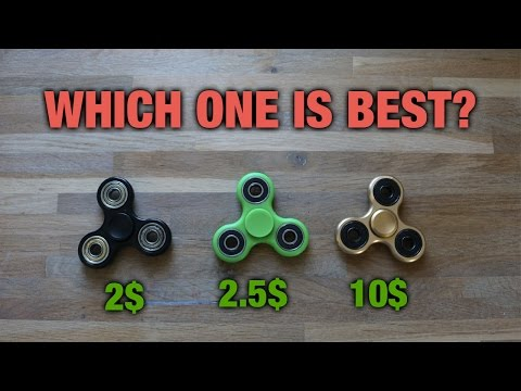 2$ vs 10$ FIDGET SPINNER, which is best?