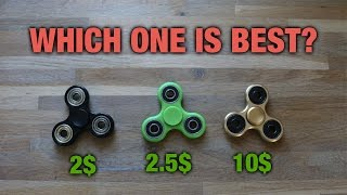 2$ vs 10$ FIDGET SPINNER, which is best?