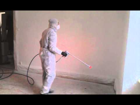 peinture interieure au pistolet airless graco euro home service youtube. Black Bedroom Furniture Sets. Home Design Ideas