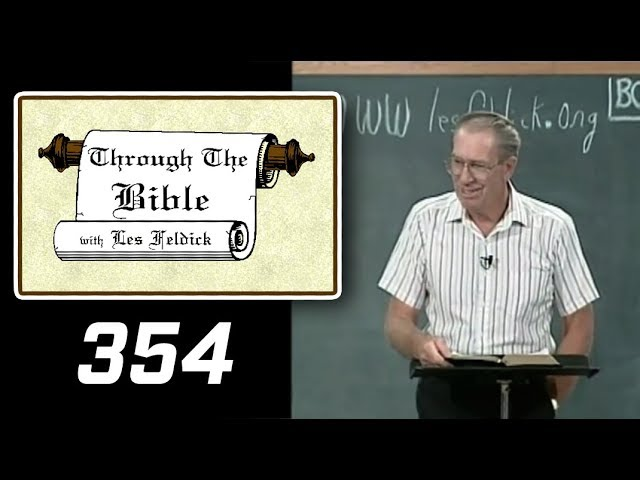 [ 354 ] Les Feldick [ Book 30 - Lesson 2 - Part 2 ] Defending Paul's Apostleship