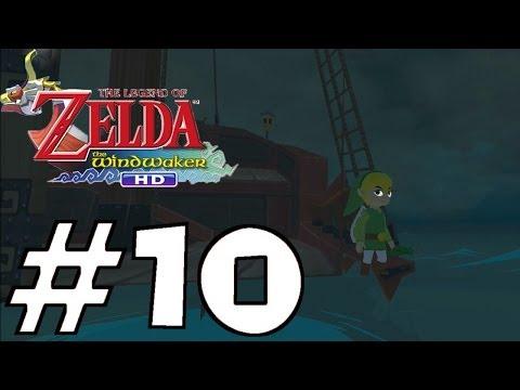 Zelda: The Wind Waker HD Let's Play (Wii U) | #10 - Password Skip (W/out a Pot) & Jabun