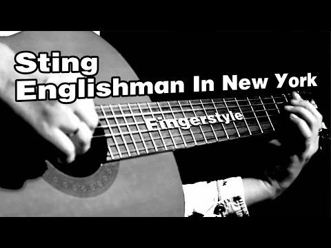 Sting - Englishman In New York | На гитаре + разбор | fingerstyle