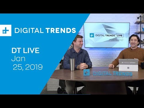 Digital Trends Live - 1.25.19 - Facebook To Integrate All Chat Apps