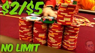$2/$5 No Limit Poker at The Venetian