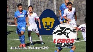 2019 01 26 Cruz Azul vs Lobos Sub 15