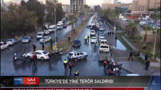 İZMİR ADLİYESİ YAKINLARINDA BOMBALI ARAÇ PATLATILDI