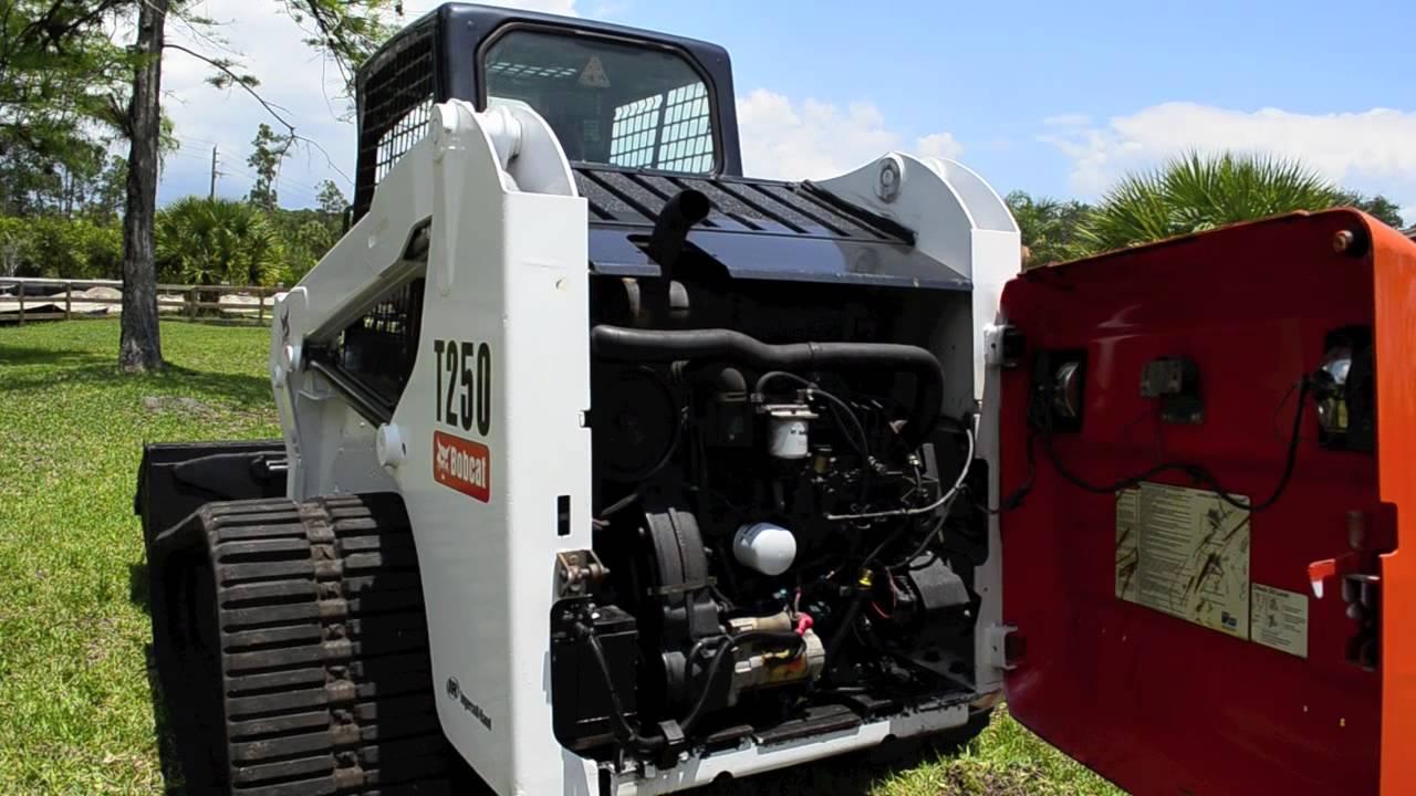 Bobcat T250 Track Loader Skid Steer For Sale