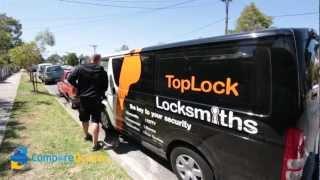Toplock Locksmiths | Compare Quotes | Melbourne Locksmiths | 24/7 Emergency Service
