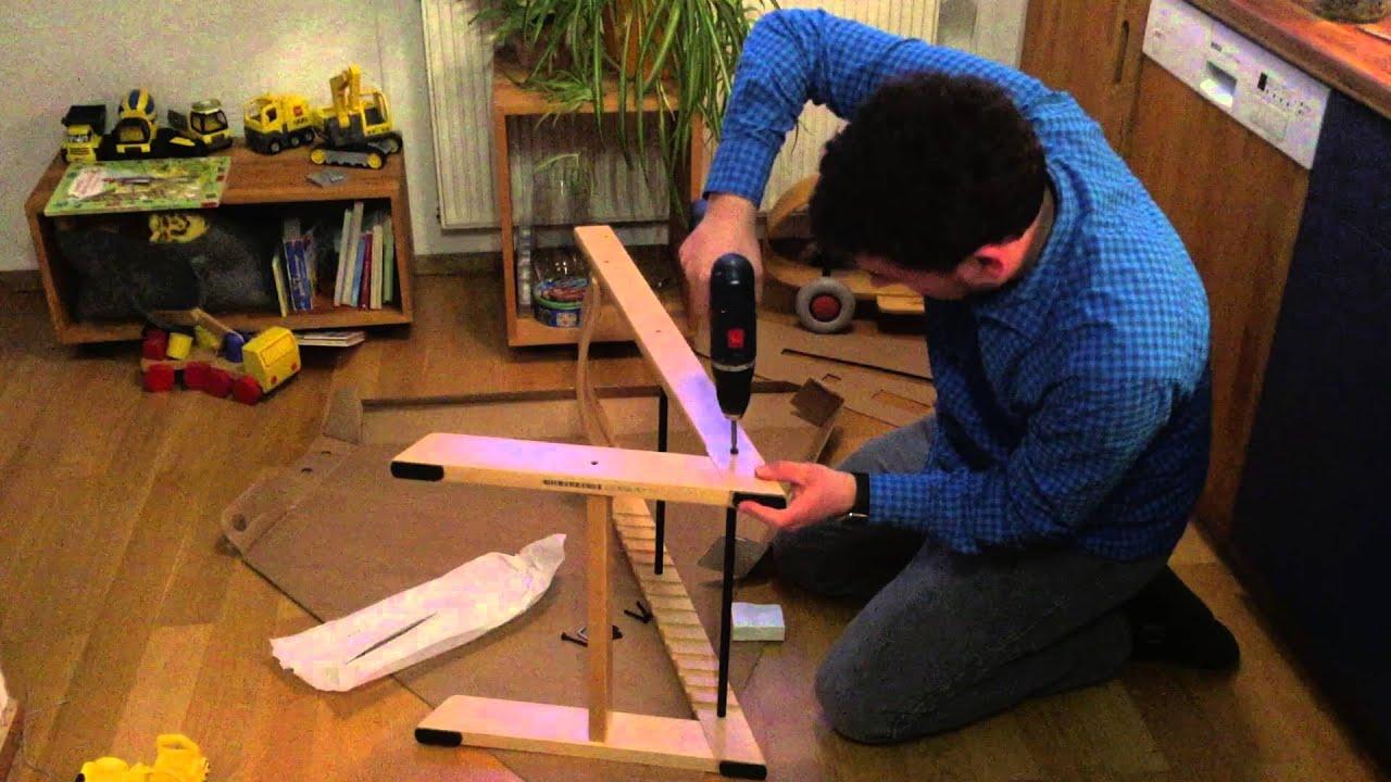 Experiment Aufbau eines Stokke TrippTrapp ohne Vorkenntnisse