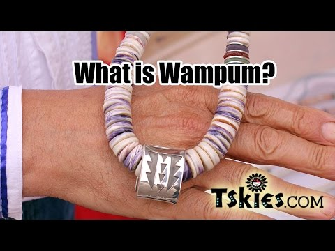 What is Wampum? Meet Tchin Native Jewelry Artist from the Narragansett and Blackfeet tribes