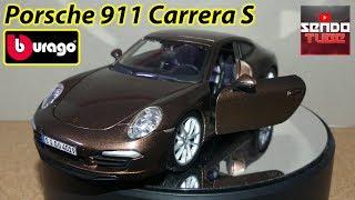 Bburago 1/24 - Porsche 911 Carrera S unboxing / recenzia sk