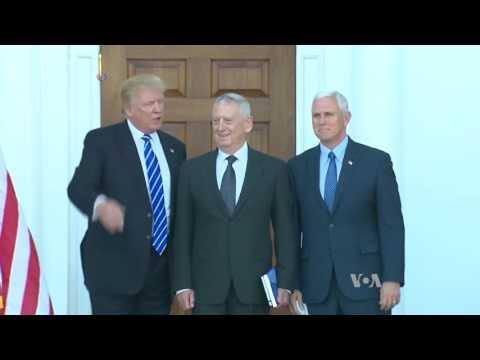 President Trump, Military Split on Climate Change