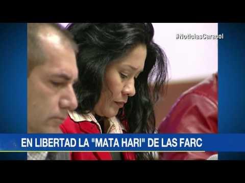Marilú Ramírez, la 'Mata Hari' de las FARC, quedó en libertad y su caso pasará a la JEP